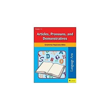 Milliken Publishing Articles, Pronouns, and Demonstratives Grammar Workbook, Grade 1 - Grade 2 [eBook]