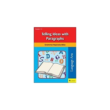 Milliken Publishing Telling Ideas With Paragraphs Grammar Workbook, Grade 1 - Grade 2 [eBook]