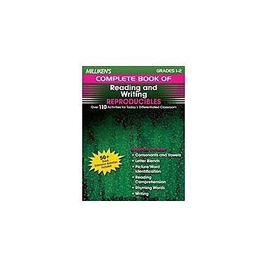 Milliken Publishing Milliken's Complete Book of Reading and Writing Reproducibles: Grades 1,2 Workbook [eBook]