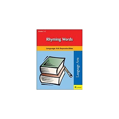 Milliken Publishing Rhyming Words Reading & Writing Workbook, Grade 1 - Grade 2 [eBook]