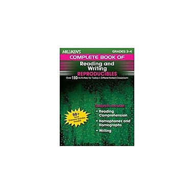 Milliken Publishing Milliken's Complete Book of Reading and Writing Reproducibles: Grades 3,4 Workbook [Enhanced eBook]