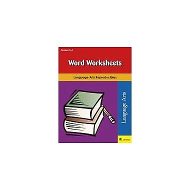 Milliken Publishing Word Worksheets Reading & Writing Workbook, Grade 3 - Grade 4 [eBook]
