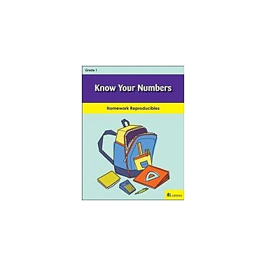 Milliken Publishing Know Your Numbers Math Workbook, Grade 1 [eBook]