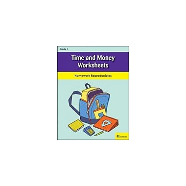 Milliken Publishing Time and Money Worksheets Math Workbook, Grade 1 [eBook]