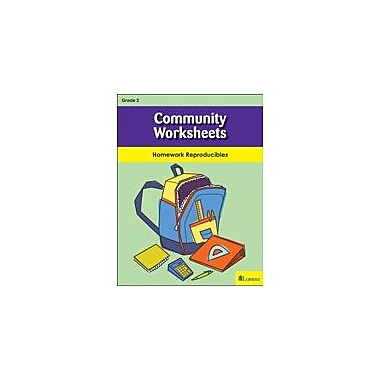 Milliken Publishing Community Worksheets Social Studies Workbook, Grade 2 [eBook]