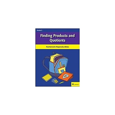 Milliken Publishing Finding Products and Quotients Math Workbook, Grade 3 [eBook]