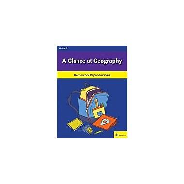 Milliken Publishing A Glance At Geography Social Studies Workbook, Grade 3 [eBook]