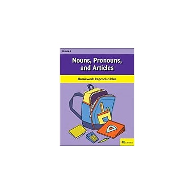 Milliken Publishing Nouns, Pronouns, and Articles Grammar Workbook, Grade 4 [eBook]