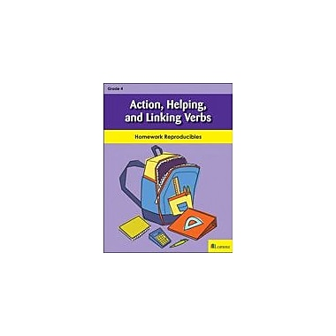 Milliken Publishing Action, Helping, and Linking Verbs Grammar Workbook, Grade 4 [eBook]