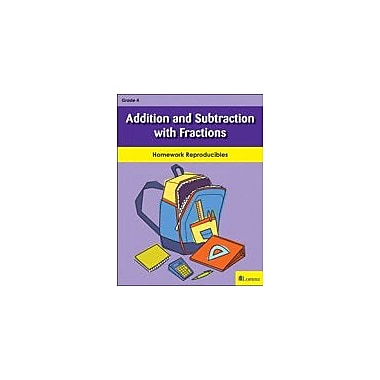 Milliken Publishing Addition and Subtraction With Fractions Math Workbook, Grade 4 [eBook]