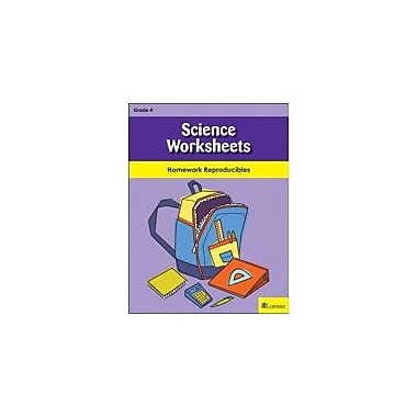 Milliken Publishing Science Worksheets Science Workbook, Grade 4 [eBook]