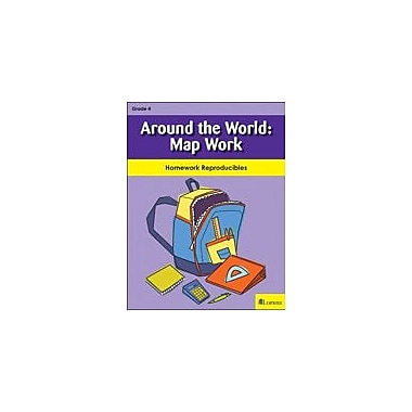 Milliken Publishing Around the World: Map Work Social Studies Workbook, Grade 4 [eBook]