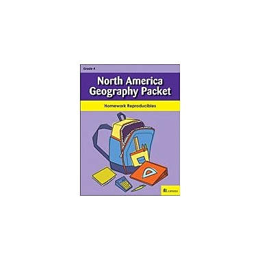 Milliken Publishing North America Geography Packet Social Studies Workbook, Grade 4 [eBook]