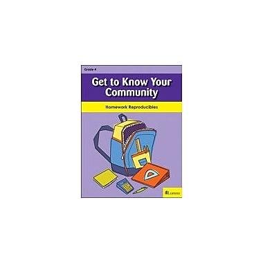 Milliken Publishing Get to Know Your Community Social Studies Workbook, Grade 4 [eBook]