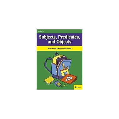 Milliken Publishing Subjects, Predicates, and Objects Grammar Workbook, Grade 5 [eBook]