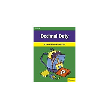 Milliken Publishing Decimal Duty Math Workbook, Grade 5 [eBook]