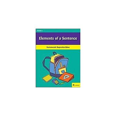Milliken Publishing Elements of A Sentence Grammar Workbook, Grade 6 [eBook]