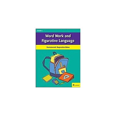 Milliken Publishing Word Work and Figurative Language Reading & Writing Workbook, Grade 6 [eBook]