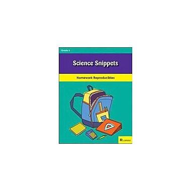 Milliken Publishing Science Snippets Science Workbook, Grade 6 [eBook]