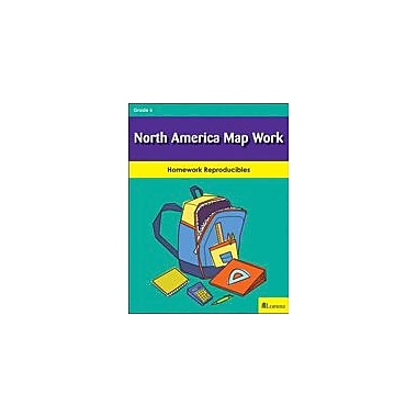 Milliken Publishing North America Map Work Social Studies Workbook, Grade 6 [eBook]