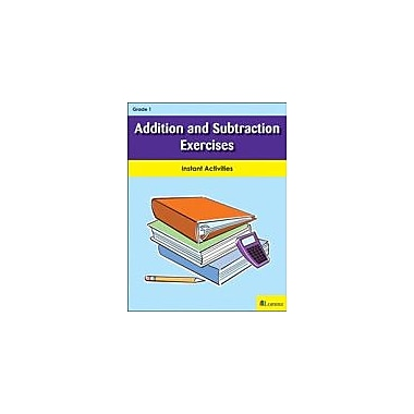 Milliken Publishing Addition and Subtraction Exercises Math Workbook, Grade 1 [eBook]