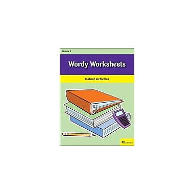 Milliken Publishing Wordy Worksheets Reading & Writing Workbook, Grade 2 [eBook]