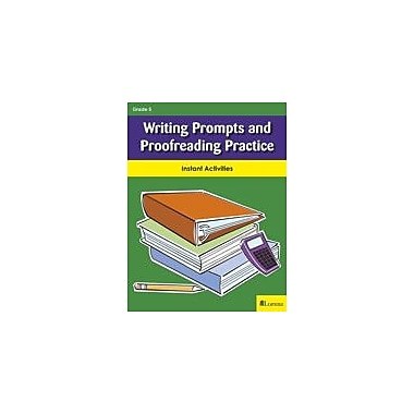 Milliken Publishing Writing Prompts and Proofreading Practice Reading & Writing Workbook, Grade 5 [eBook]
