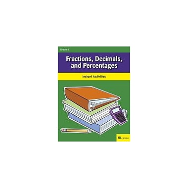 Milliken Publishing Fractions, Decimals, and Percentages Math Workbook, Grade 5 [eBook]