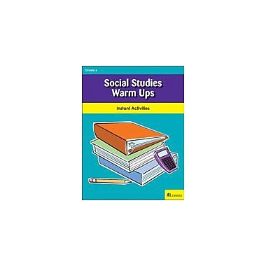 Milliken Publishing Social Studies Warm Ups Social Studies Workbook, Grade 6 [eBook]