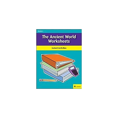 Milliken Publishing The Ancient World Worksheets Social Studies Workbook, Grade 6 [eBook]