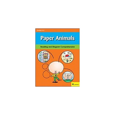 Milliken Publishing Paper Animals Reading & Writing Workbook, Kindergarten - Grade 3 [eBook]