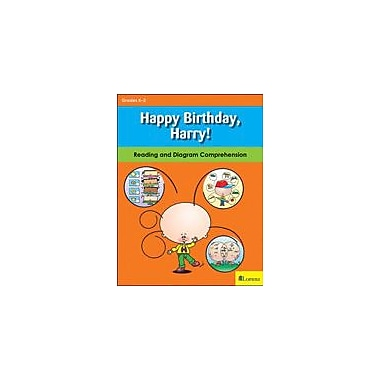 Milliken Publishing Happy Birthday, Harry! Reading & Writing Workbook, Kindergarten - Grade 3 [eBook]
