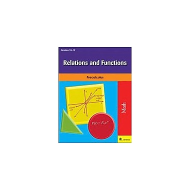 Milliken Publishing Relations and Functions Math Workbook, Grade 10 - Grade 12 [eBook]
