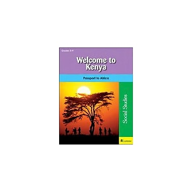 Milliken Publishing Welcome to Kenya Geography Workbook, Grade 5 - Grade 9 [eBook]
