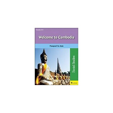 Milliken Publishing Welcome to Cambodia Geography Workbook, Grade 5 - Grade 9 [eBook]