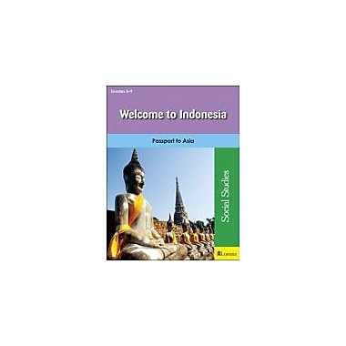 Milliken Publishing Welcome to Indonesia Geography Workbook, Grade 5 - Grade 9 [eBook]