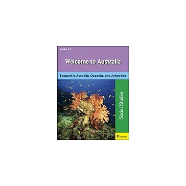 Milliken Publishing Welcome to Australia Geography Workbook, Grade 5 - Grade 9 [eBook]