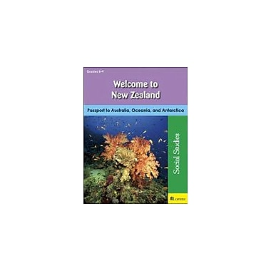 Milliken Publishing Welcome to New Zealand Geography Workbook, Grade 5 - Grade 9 [eBook]