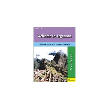 Milliken Publishing Welcome to Argentina Social Studies Workbook, Grade 5 - Grade 9 [eBook]
