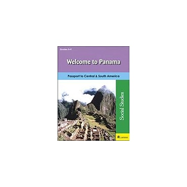 Milliken Publishing Welcome to Panama Social Studies Workbook, Grade 5 - Grade 9 [eBook]