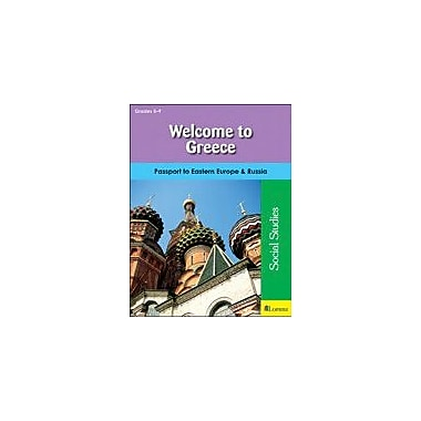 Milliken Publishing Welcome to Greece Geography Workbook, Grade 5 - Grade 9 [eBook]