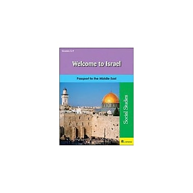 Milliken Publishing Welcome to Israel Geography Workbook, Grade 5 - Grade 9 [eBook]