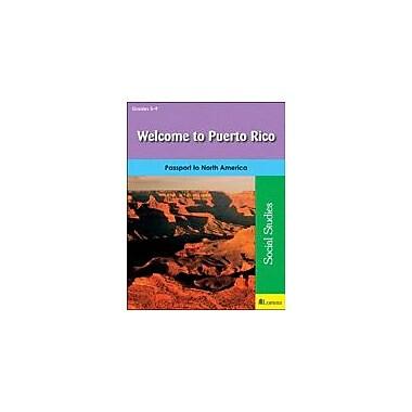 Milliken Publishing Welcome to Puerto Rico Geography Workbook, Grade 5 - Grade 9 [eBook]