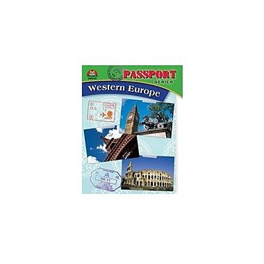Milliken Publishing Passport Series: Western Europe Social Studies Workbook, Grade 5 - Grade 9 [Enhanced eBook]