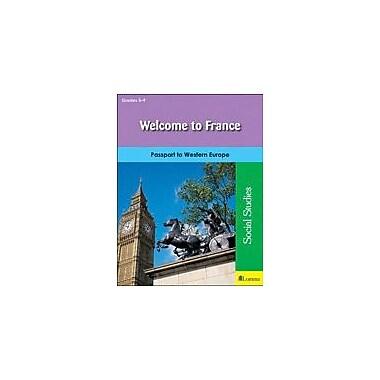 Milliken Publishing Welcome to France Geography Workbook, Grade 5 - Grade 9 [eBook]