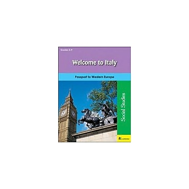Milliken Publishing Welcome to Italy Geography Workbook, Grade 5 - Grade 9 [eBook]