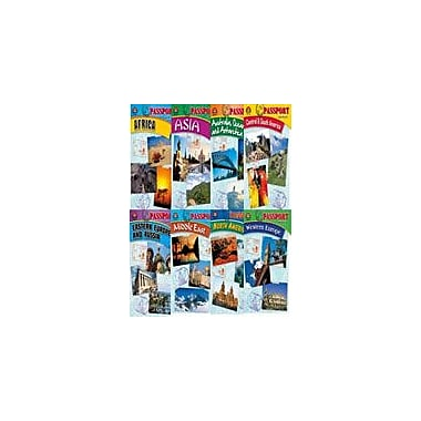 Milliken Publishing Passport Series: Complete Set (Eight Enhanceds) Social Studies Workbook, Grade 5 - Grade 9 [Enhanced eBook]