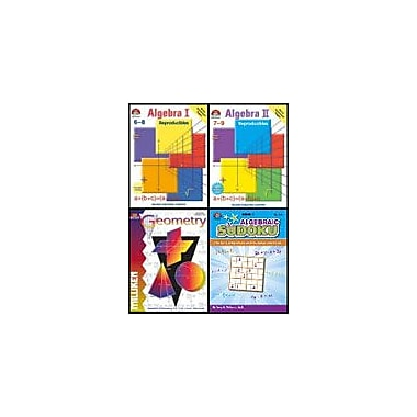 Milliken Publishing All About Math Bundle Grades 6-9 Math Workbook, Grade 6 - Grade 9 [Enhanced eBook]