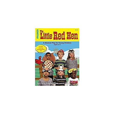 Milliken Publishing The Little Red Hen Art & Music Workbook, Preschool - Grade 2 [Enhanced eBook]