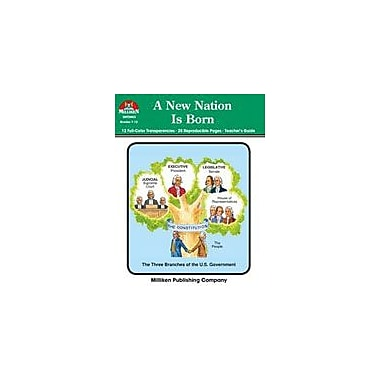 Milliken Publishing A New Nation Is Born Social Studies Workbook, Grade 7 - Grade 12 [Enhanced eBook]